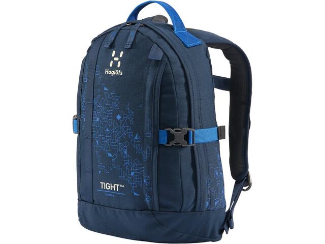 Haglöfs Tight 8 Backpack Youth tarn blue/storm blue
